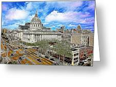 San Francisco City Hall 5d22507 Photoart Greeting Card