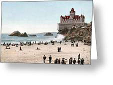 San Francisco Cliff House 1902 Greeting Card