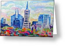 San Francisco Colors Greeting Card