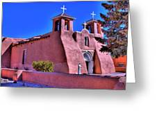 San Francisco De Asis Mission Church Greeting Card