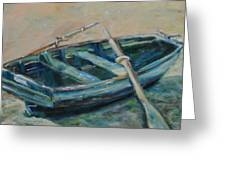 San Francisco Dinghy Greeting Card by Susie Jernigan