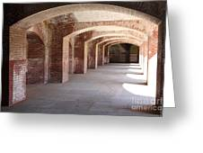 San Francisco Fort Point 5d21545 Greeting Card by Wingsdomain Art and Photography