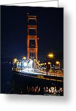 San Francisco - Golden Gate Bridge From North Vista Point Greeting Card