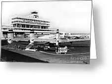 San Francisco International Airport Passenger Terminal Circa 195 Greeting Card