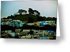 San Francisco Neighborhood Greeting Card