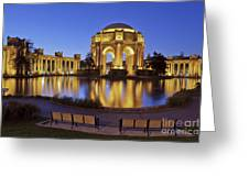 San Francisco Palace Of Fine Arts Theatre Greeting Card