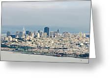 San Francisco Panorama Greeting Card