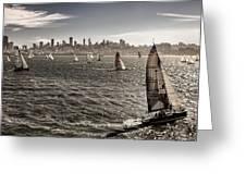 San Francisco Sails Greeting Card