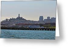 San Francisco Skyline -2 Greeting Card