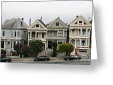 San Francisco - The Painted Ladies Greeting Card