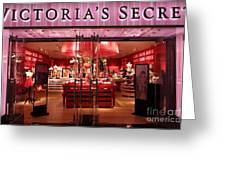 San Francisco Victoria's Secret Store - 5d20652 Greeting Card by Wingsdomain Art and Photography