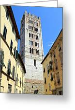 San Frediano Tower Greeting Card