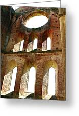 San Galgano Greeting Card