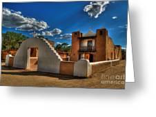 San Geronimo Church Taos Pueblo Greeting Card