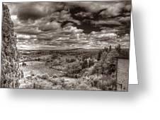 San Gimignano View Greeting Card