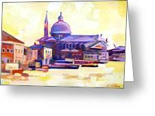 San Giorgio II Greeting Card