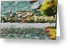 San Giulio Greeting Card