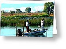 San Joaquin River Fish'n Greeting Card