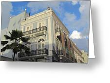 San Juan Architecture 1 Greeting Card