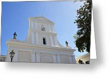 San Juan Bautista Greeting Card