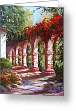 San Juan Capistrano Mission Greeting Card