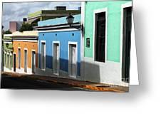 San Juan Colors Greeting Card by John Rizzuto