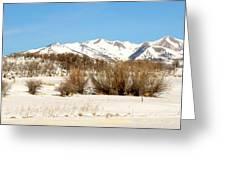 San Juan Mountains No. 1 Greeting Card