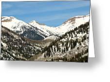 San Juan Mountains No. 3 Greeting Card