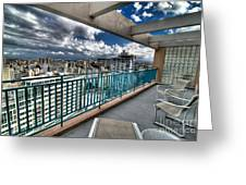 San Juan Puerto Rico Hdr Cityscape Greeting Card by Amy Cicconi
