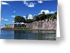 San Juan Wall Greeting Card