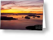 San Juans Sunset Greeting Card