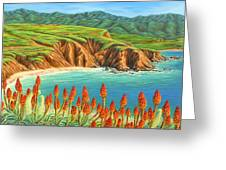 San Mateo Springtime Greeting Card