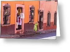 San Miguel Shop Greeting Card
