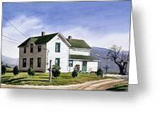 San Pasquale House Greeting Card