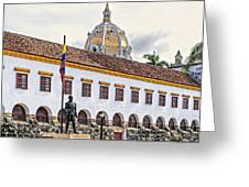 San Pedro Claver Monastery Greeting Card