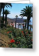 San Pedro Coast Line Greeting Card by Robert Bray