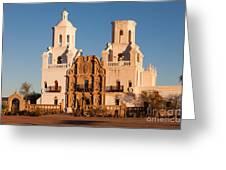 San Xavier Del Bac Mission IIi Greeting Card