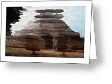 Sanchi  Buddhist Monuments Greeting Card