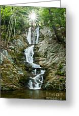 Waterfall - Sanctuary At Savoy Mountain Greeting Card