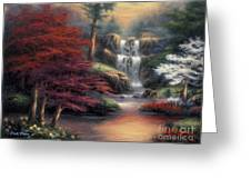Sanctuary Greeting Card by Chuck Pinson