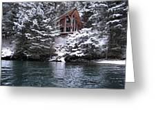 Sanctuary In Winter Greeting Card
