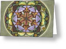Sanctuary Mandala Greeting Card