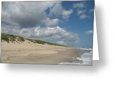 Sand And Sea Greeting Card