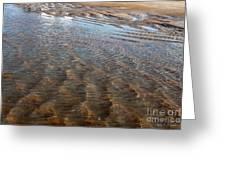Sand Art No. 4 Greeting Card