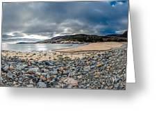 Sand Beach At Acadia Greeting Card