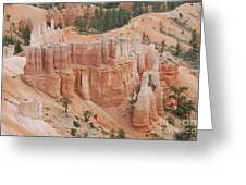 Sand Castles In Bryce Canyon Greeting Card by Mari  Gates