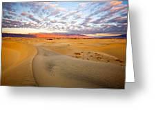 Sand Dune Sunrise Greeting Card