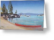 Sand Harbor - Lake Tahoe Greeting Card