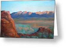 Sand Hollow Panorama Greeting Card