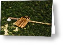 Sand Lot Baseball Greeting Card